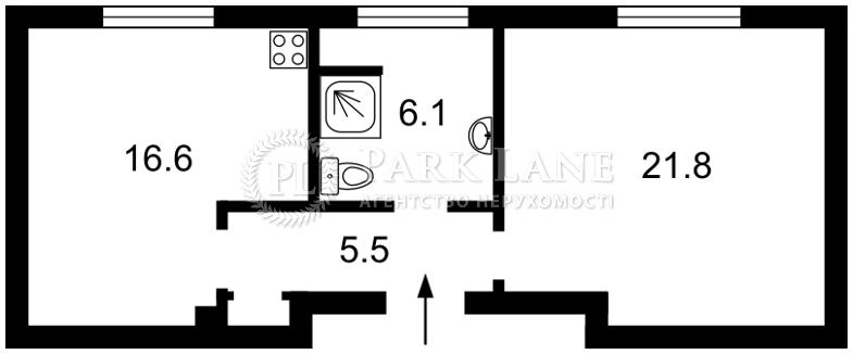 Квартира ул. Большая Житомирская, 24б, Киев, B-97342 - Фото 2