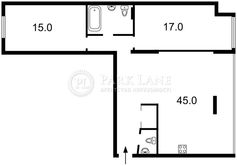 Квартира ул. Шелковичная, 20, Киев, L-25309 - Фото 2
