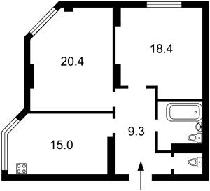 Квартира Z-374738, Мишуги Александра, 8, Киев - Фото 8