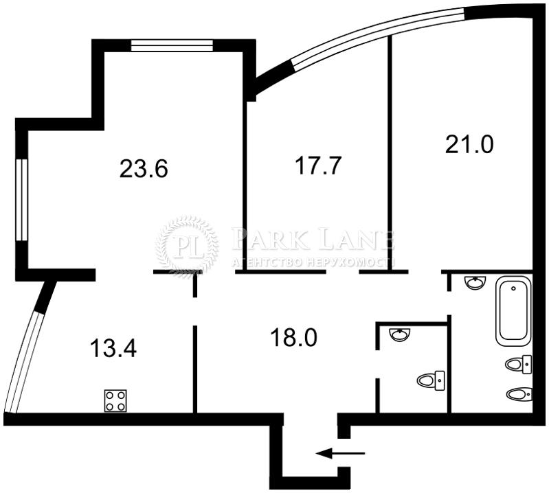 Квартира Z-370064, Дмитриевская, 82, Киев - Фото 5
