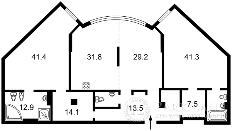Квартира ул. Мазепы Ивана (Январского Восстания), 11б, Киев, J-26312 - Фото 2