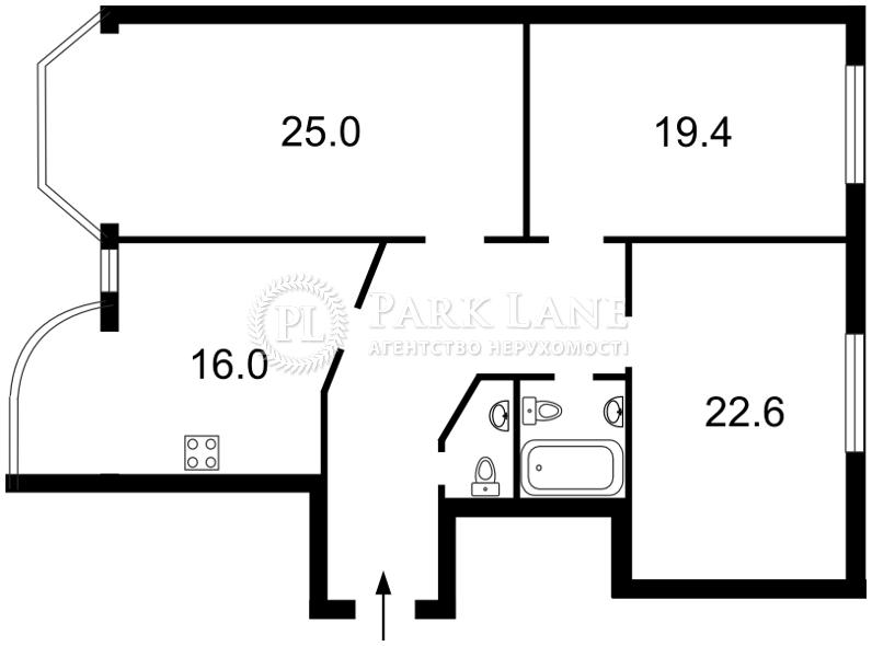 Квартира ул. Осенняя, 33, Киев, Z-368535 - Фото 2