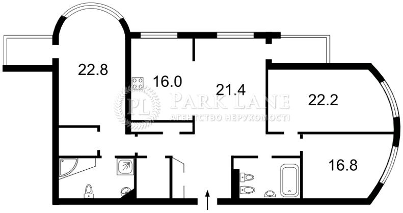 Квартира Шевченко Тараса бульв., 27б, Киев, J-26217 - Фото 2