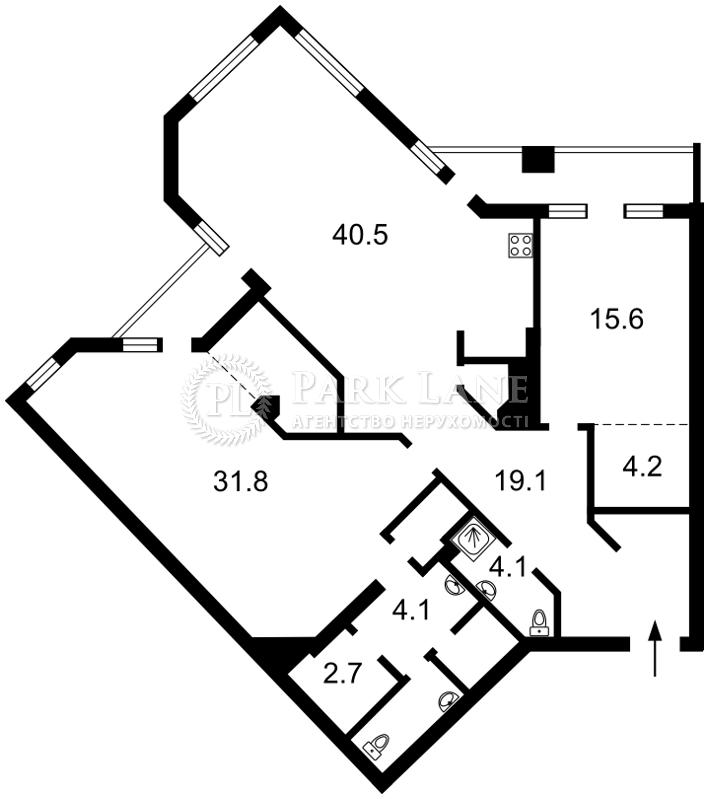 Квартира Шевченко Тараса бульв., 11, Киев, J-26372 - Фото 2