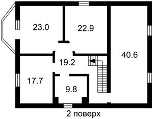Дом Z-419373, Херсонская, Петропавловская Борщаговка - Фото 7