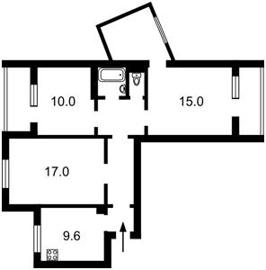 Квартира Z-317943, Княжий Затон, 12, Киев - Фото 3