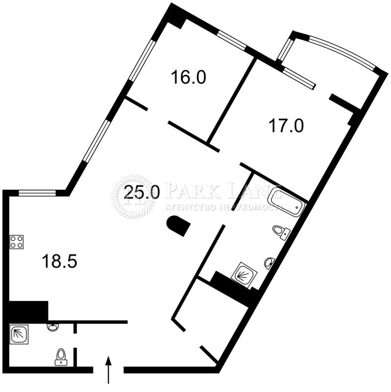 Квартира I-29119, Иоанна Павла II (Лумумбы Патриса), 6/1, Киев - Фото 10