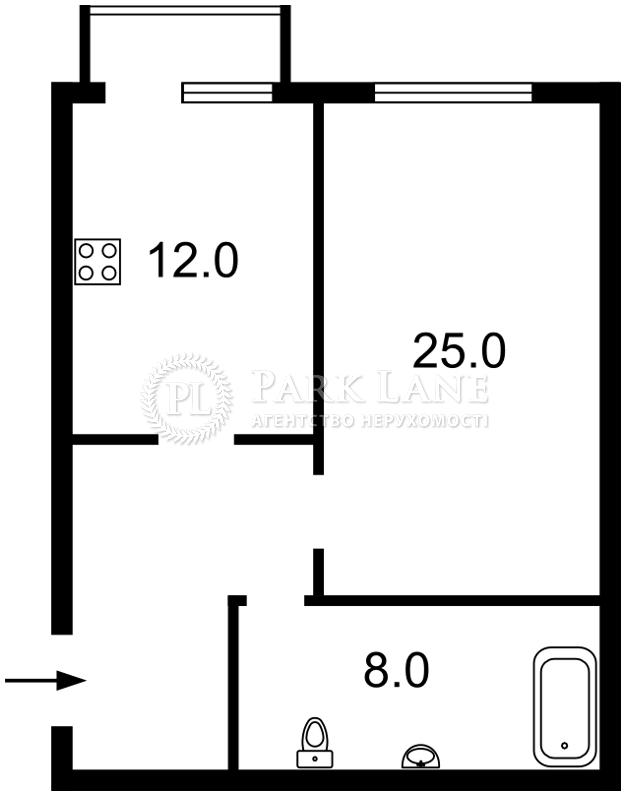 Квартира ул. Дмитриевская, 48г, Киев, Z-385705 - Фото 2