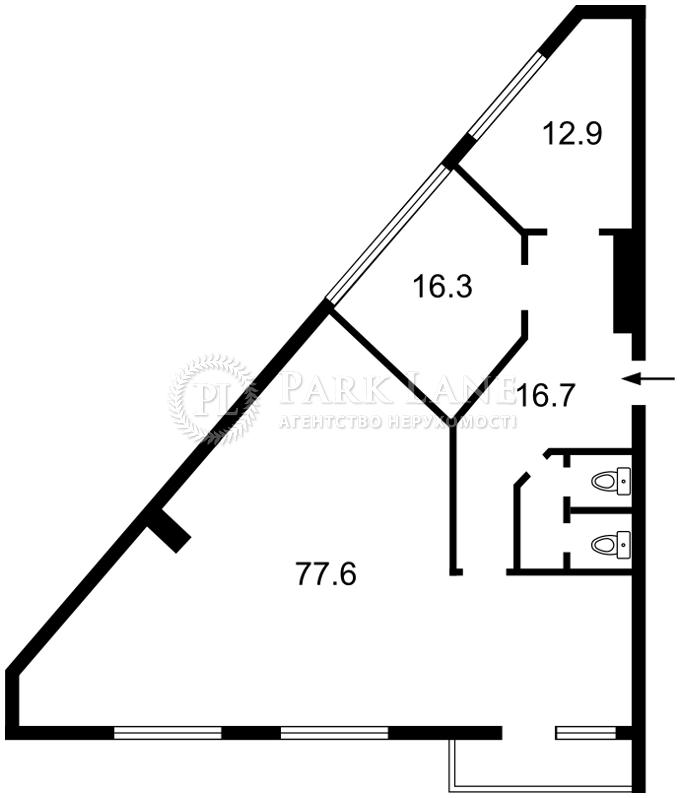 Нежилое помещение, B-97723, Шевченко Тараса бульв., Киев - Фото 2