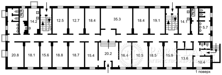 Нежитлове приміщення, вул. Заболотного Академіка, Київ, Z-1692896 - Фото 3