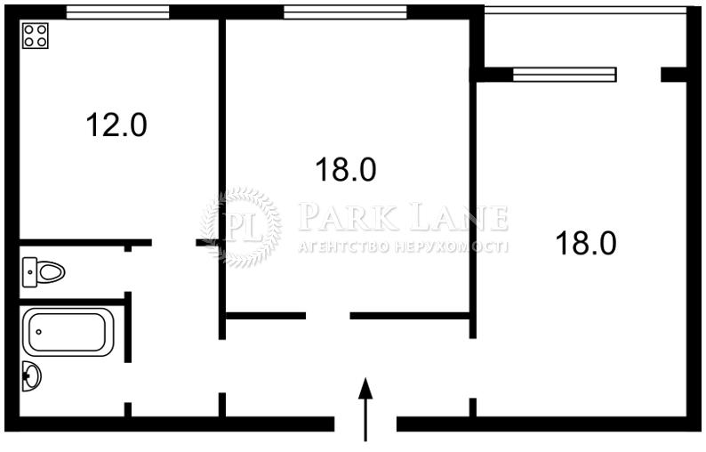 Квартира ул. Белицкая, 18, Киев, X-2181 - Фото 2