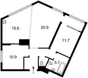 Квартира B-97623, Липкивского Василия (Урицкого), 16а, Киев - Фото 5