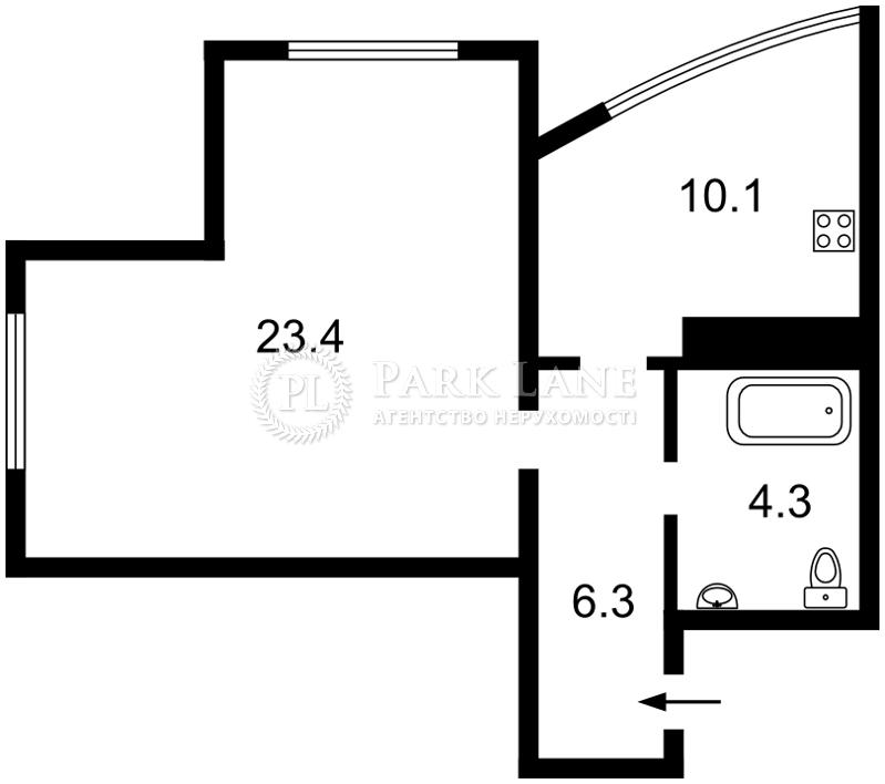 Квартира Победы просп., 26, Киев, R-21375 - Фото 2