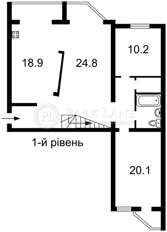 Квартира вул. Ломоносова, 58, Київ, B-97758 - Фото 2