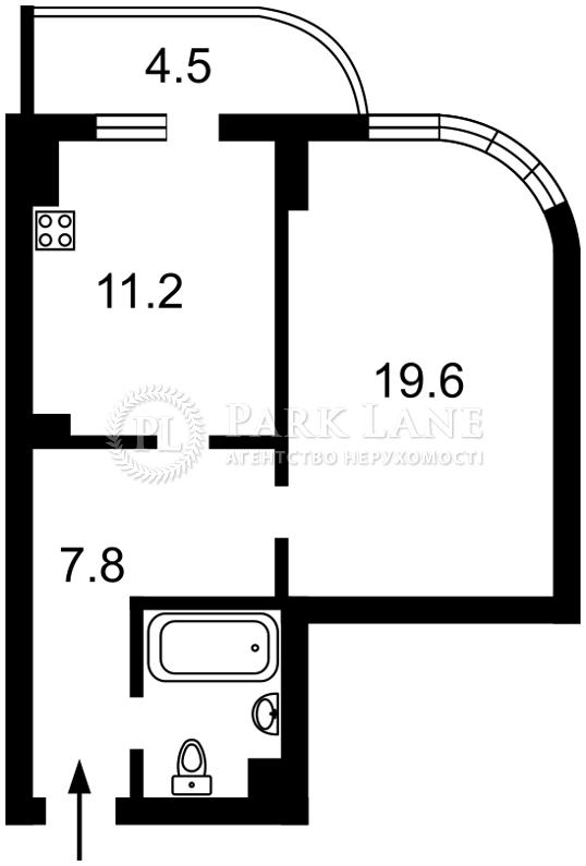 Квартира вул. Драгомирова, 2а, Київ, Z-411483 - Фото 2