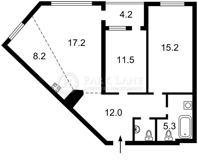 Квартира B-97833, Липкивского Василия (Урицкого), 16г, Киев - Фото 3