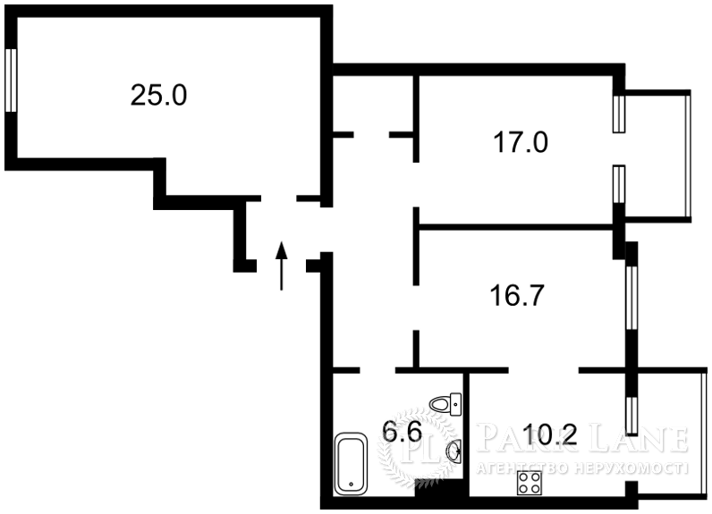 Квартира K-27043, Михайловский пер., 9б, Киев - Фото 5