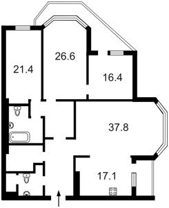 Квартира B-97895, Никольско-Слободская, 1а, Киев - Фото 6