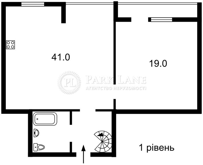 Квартира ул. Саксаганского, 33/35, Киев, Z-353208 - Фото 2