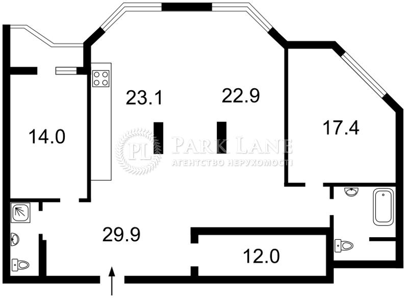 Квартира ул. Коперника, 12д, Киев, Z-400575 - Фото 2