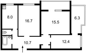 Квартира N-20221, Златоустовская, 46, Киев - Фото 2