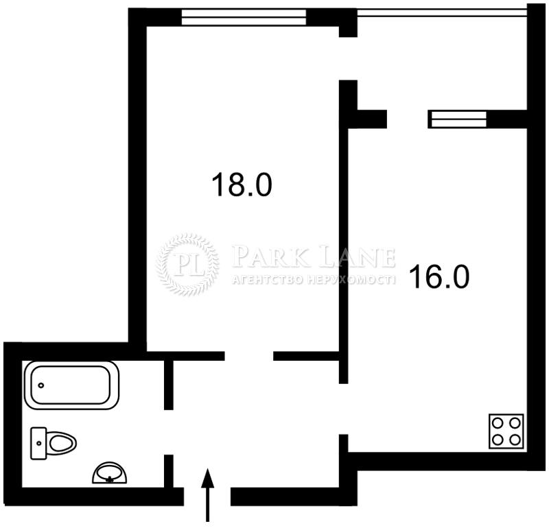 Квартира ул. Заречная, 1г, Киев, Z-432551 - Фото 2