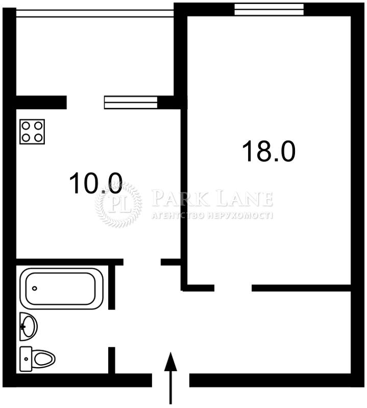 Квартира ул. Чавдар Елизаветы, 38, Киев, J-26683 - Фото 2