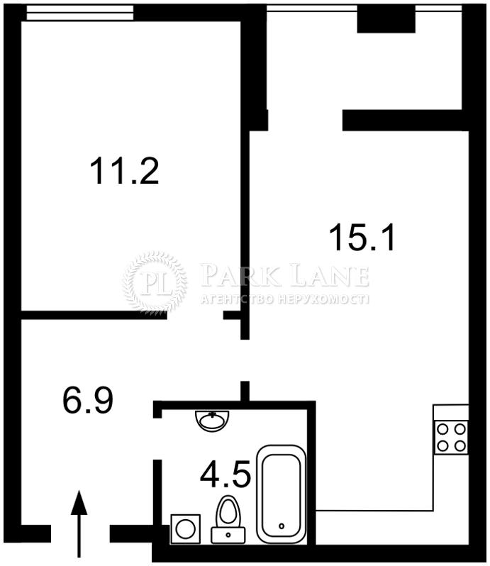 Квартира ул. Регенераторная, 4 корпус 3, Киев, R-21509 - Фото 2