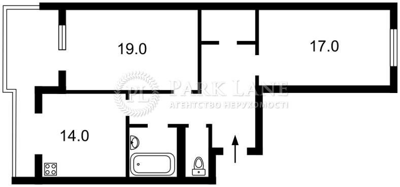 Квартира ул. Малевича Казимира (Боженко), 89, Киев, K-27058 - Фото 2