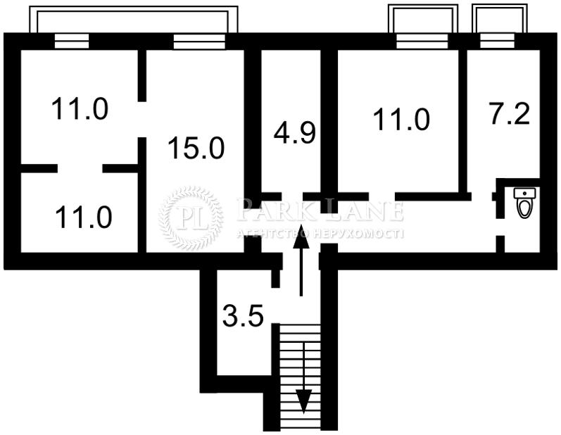 Нежитлове приміщення, B-97995, Пирогова, Київ - Фото 1