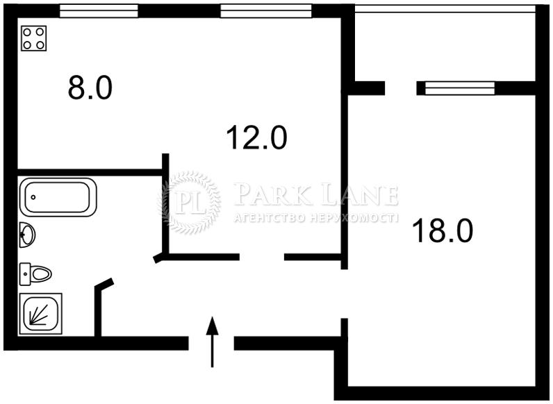 Квартира Героев Сталинграда просп., 28, Киев, J-26708 - Фото 2