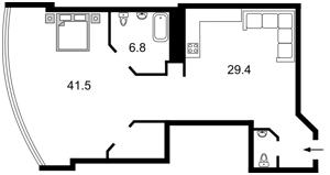 Квартира I-29394, Кловский спуск, 7, Киев - Фото 8