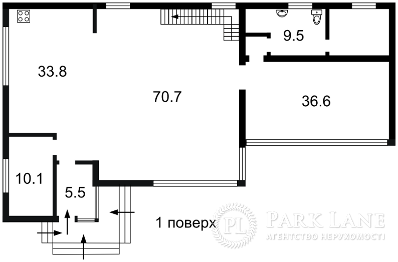Дом ул. Поречковая, Киев, B-97572 - Фото 2