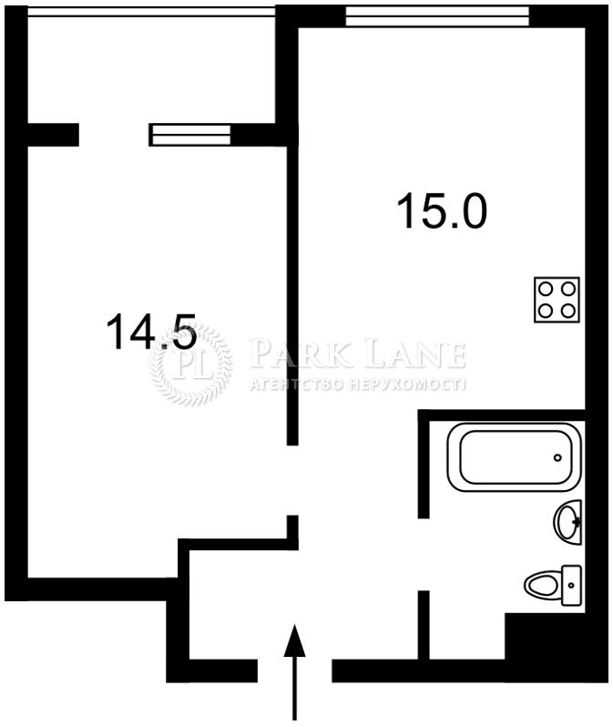 Квартира ул. Болсуновская (Струтинского Сергея), 2, Киев, Z-442604 - Фото 2