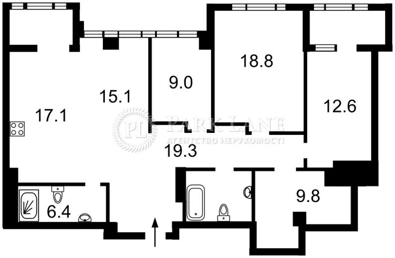 Квартира I-29413, Саперное Поле, 3, Киев - Фото 5