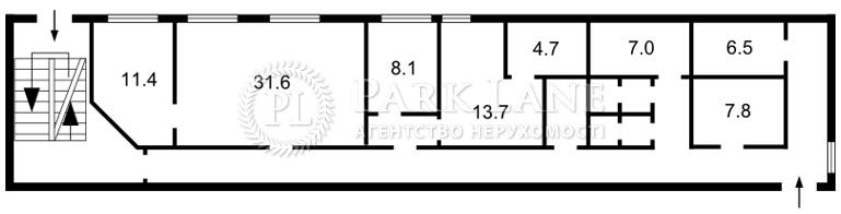 Офис, B-98073, Мечникова, Киев - Фото 2