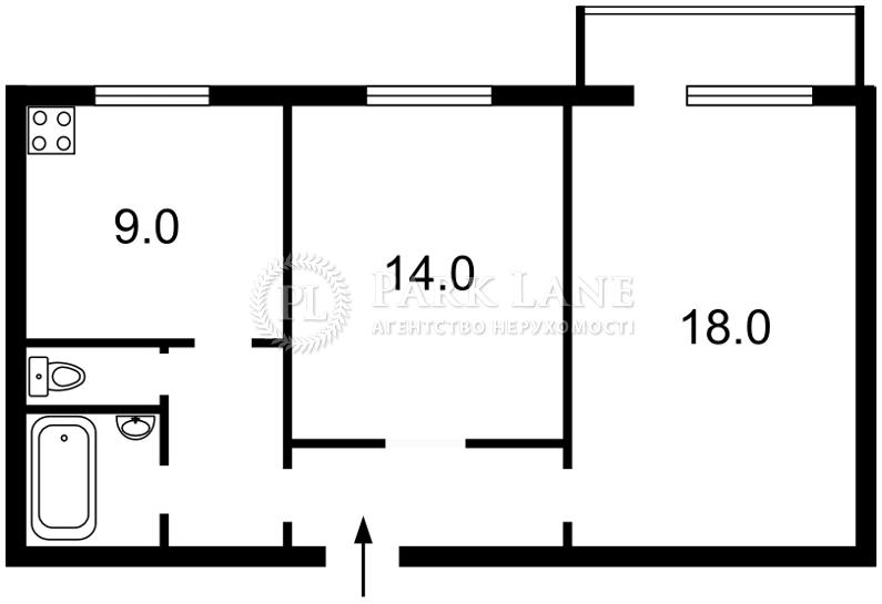 Квартира вул. Інститутська, 18, Київ, F-2381 - Фото 2