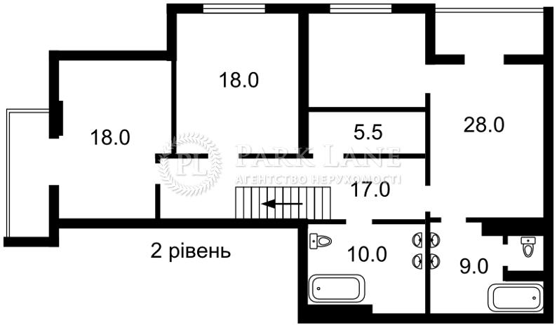 Квартира ул. Гоголевская, 14, Киев, B-98097 - Фото 3