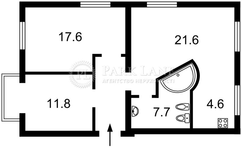Квартира ул. Шота Руставели, 26, Киев, Z-456242 - Фото 2