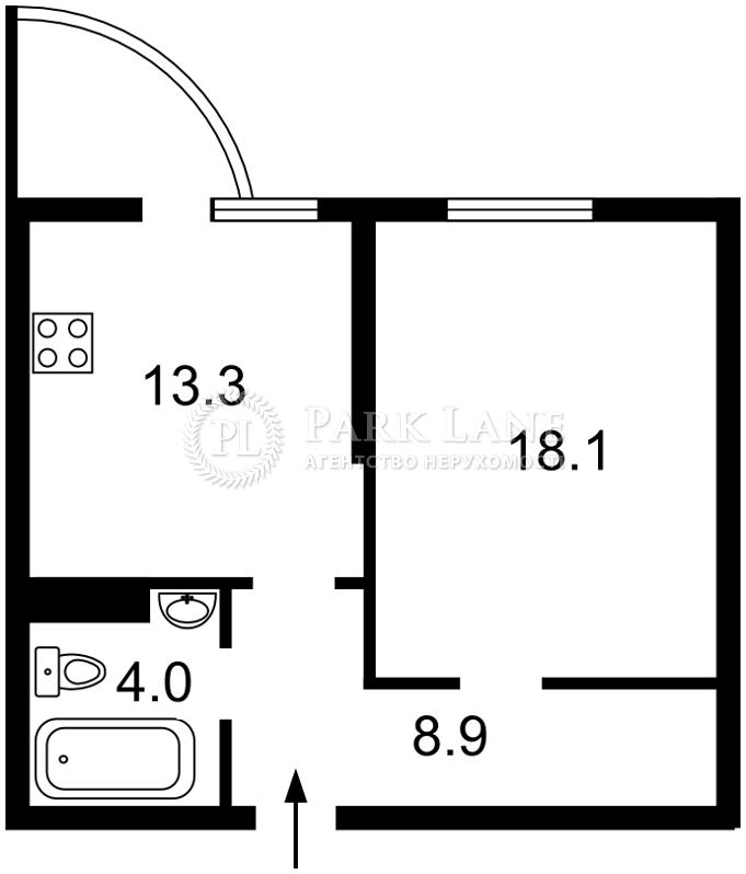 Квартира ул. Вильямса Академика, 3/7, Киев, R-22813 - Фото 2