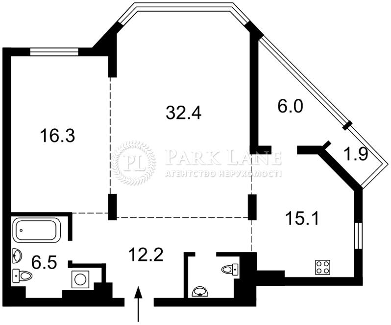 Квартира ул. Болсуновская (Струтинского Сергея), 2, Киев, I-29459 - Фото 2