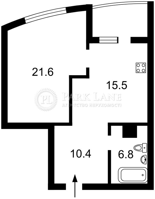 Квартира ул. Ушакова Николая, 1д, Киев, Z-458185 - Фото 2