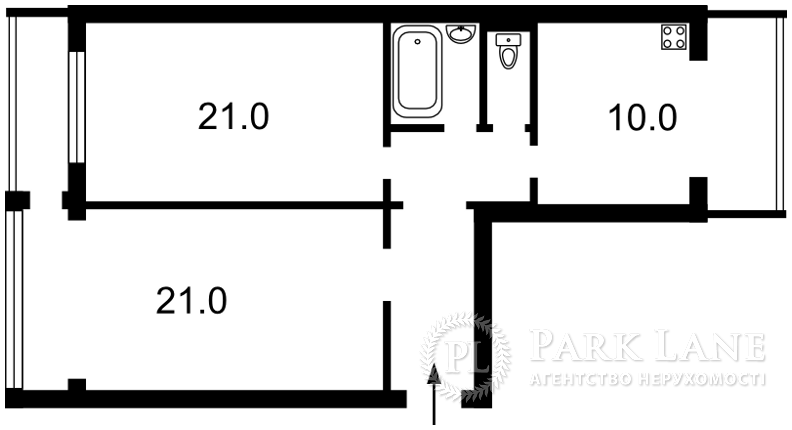 Квартира Z-1855166, Ушакова Николая, 10, Киев - Фото 2
