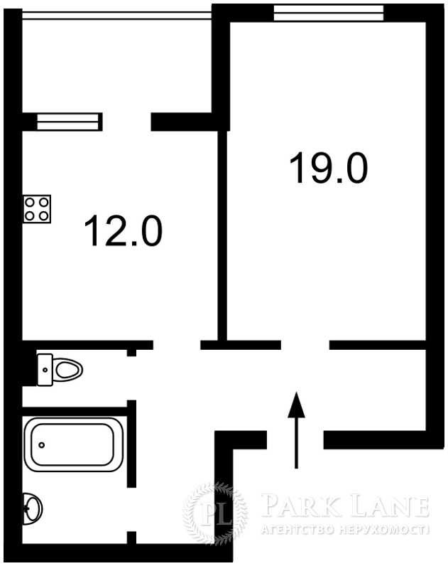 Квартира Глушкова Академика просп., 9е, Киев, R-21051 - Фото 2