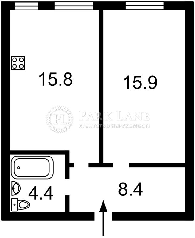 Квартира ул. Регенераторная, 4 корпус 13, Киев, Z-457243 - Фото 2