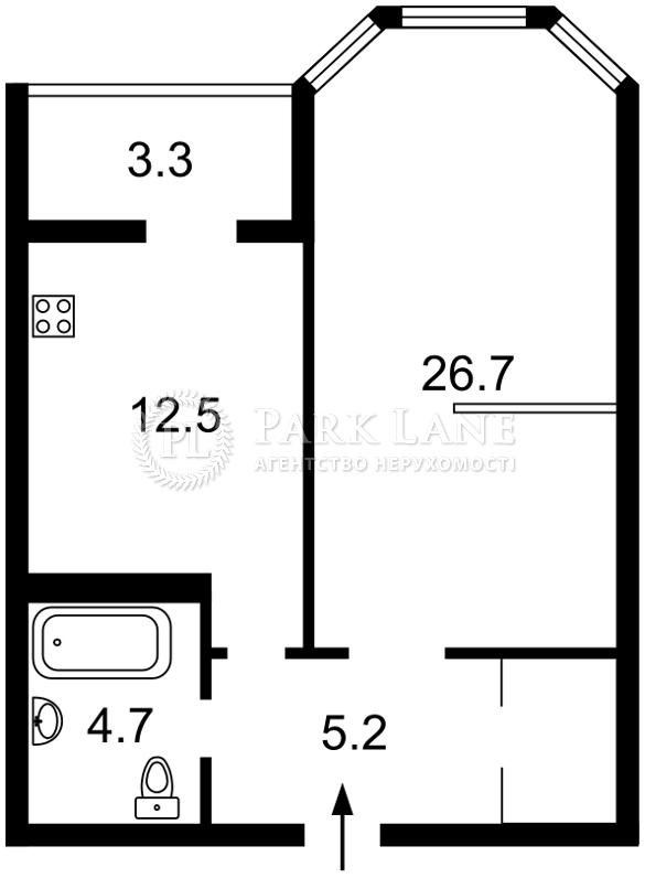 Квартира ул. Коновальца Евгения (Щорса), 34а, Киев, Z-329228 - Фото 2