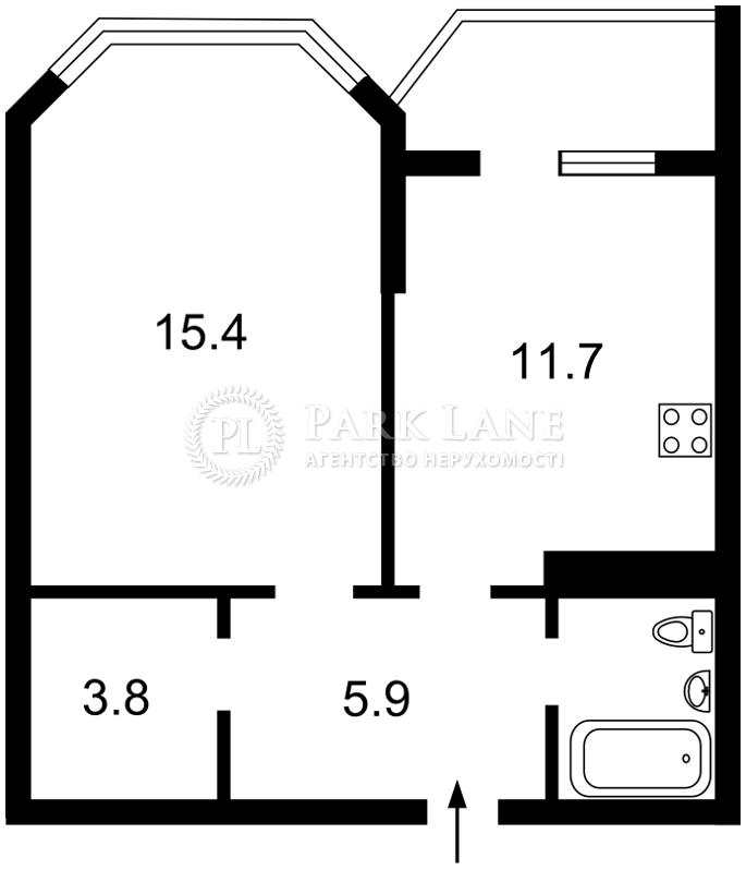 Квартира ул. Чавдар Елизаветы, 18, Киев, X-30463 - Фото 2