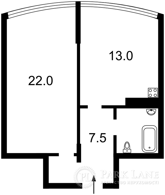Квартира Героев Сталинграда просп., 8а, Киев, Z-1167341 - Фото 2