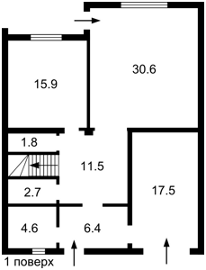 Дом B-98190, Мира, Козин (Конча-Заспа) - Фото 5