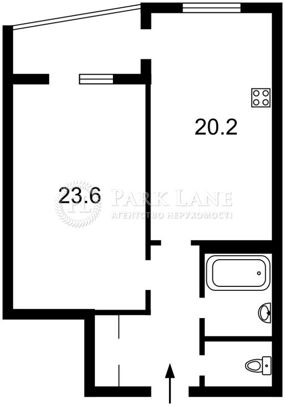 Квартира ул. Ирпенская, 69а, Киев, Z-154670 - Фото 2